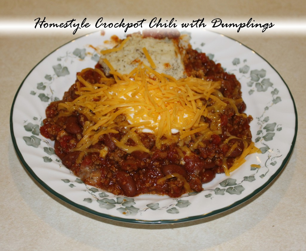 HomestyleCrockpotChili