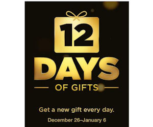 Free 12 Days of Free App Gifts from Apple
