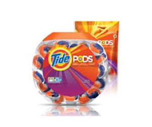 Free Tide Pods Tub Over-the-Lid Re-Sealable Stickers