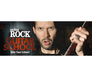 6 Free Online Guitar Lessons with Paul Gilbert