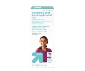 Up & Up Children's Cough Relief  - Free with Coupon at Target
