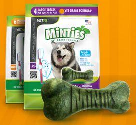 Free Sample of Minties Dog Treats