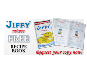 Send Away for a Free Copy of Jiffy Mixes Recipe Booklet