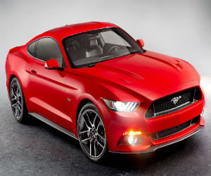 Win a a 2015 Ford Mustang GT