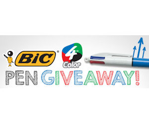 14,784 Free BIC 4-Color Pens to Be Givenaway!