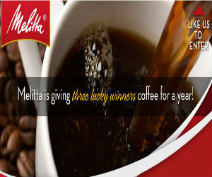 Win Melitta Coffee for a Year