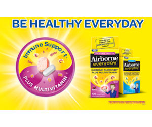 Request a Free Sample of Airborne Everyday Tablets Sample