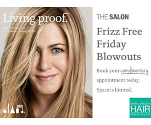 Book a Free Blowout at ULTA with Living Proof Frizz Free Fridays